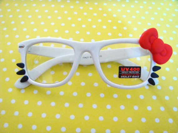 Forget rose colored glasses, you just need Hello Kitty glasses!