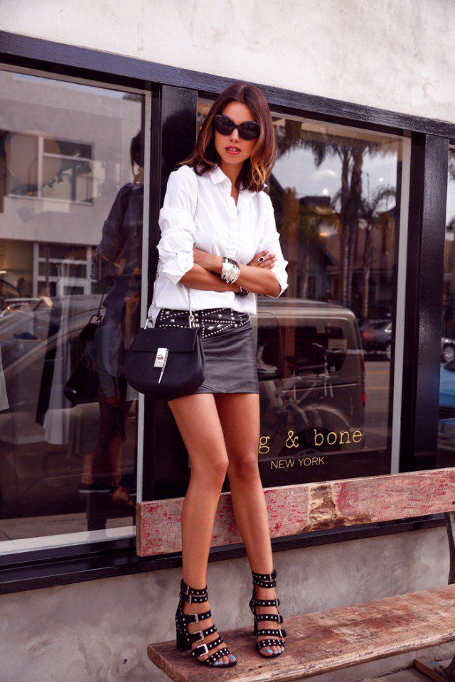 Combinaciones perfectas   Moda y Belleza en Blanco y Negro