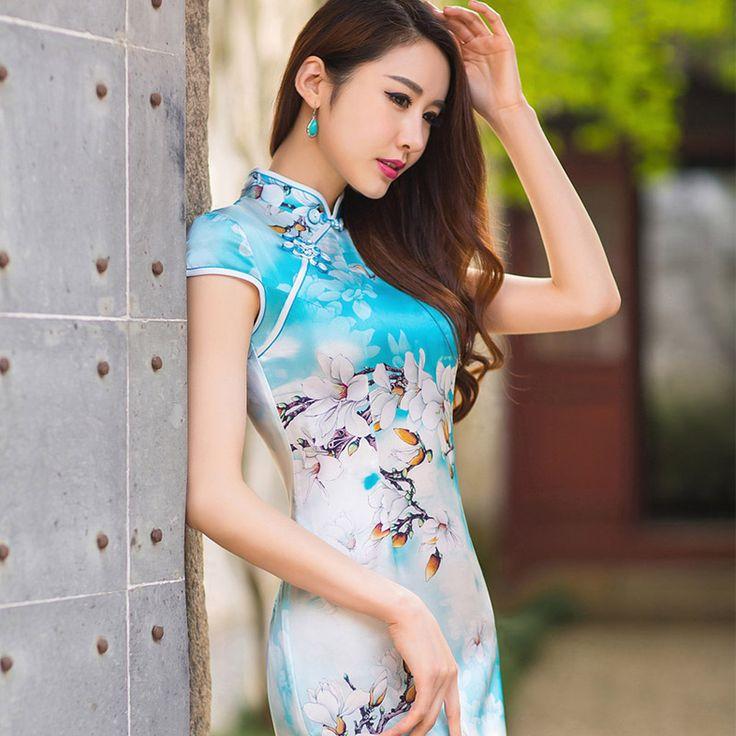 qipao plaid wedding dress            https://www.ichinesedress.com/