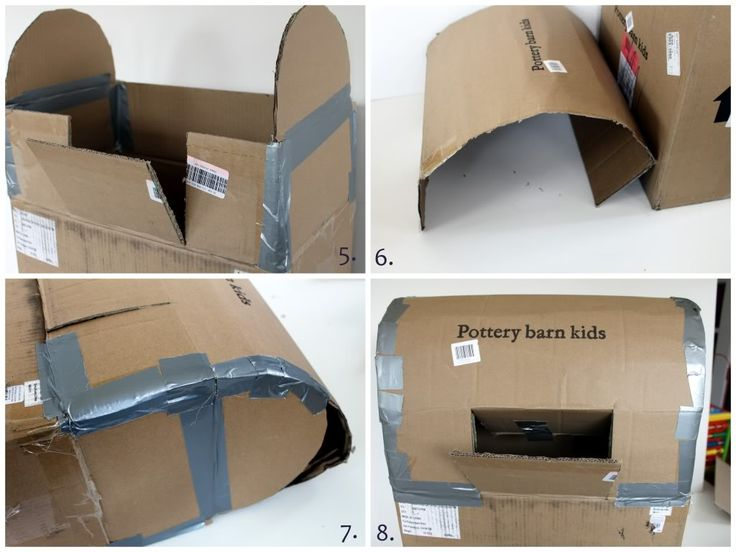 Crossing the Bugger-Dixon Line: Kid Craft: DIY Mail Boxes {Featured on ediTORIal}