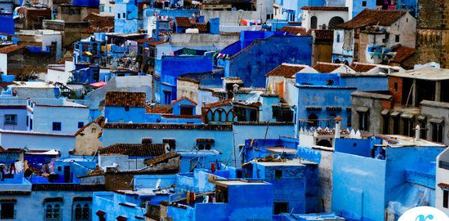 La ciudad azul- Chauen, Xauen o Chefchauen es un municipio y una ciudad de Marruecos, capital de la provincia del mismo nombre. Está situada en el noroeste del país, en las estribaciones de las montañas del Rif, cerca de Tetuán. Está en la región de Tánger-Tetuán.
