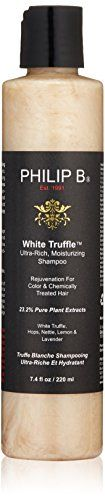 Men's Hair Care PHILIP B White Truffle UltraRich Moisturizing Shampoo 74 fl oz -- You can find out more details at the link of the image.