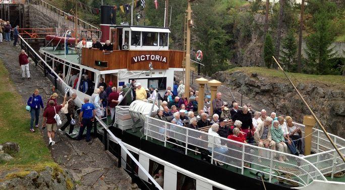 Tilbakemeldingene etter «Mystery Cruise» i Telemark er fulle av superlativer. Telemarkskanalen var høydepunktet for de over 600 britiske turistene.