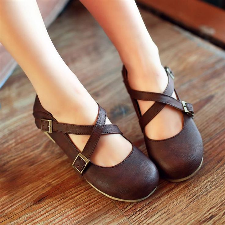 2015 flat spring buckle comfortable doll single shoes, preppy style fashion single shoes ,two style wearing ,girl shoes-inWomen's Flats from Shoes on Aliexpress.com | Alibaba Group