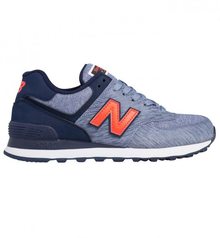 New Balance 574 Bleu Orange Femme