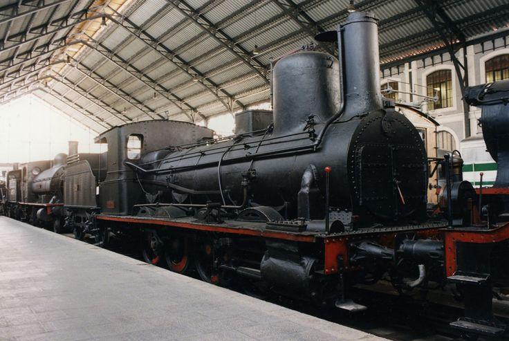 "Locomotora de vapor 040-2091. ""El Cinca"" (Le Creusot, Francia, 1864)"