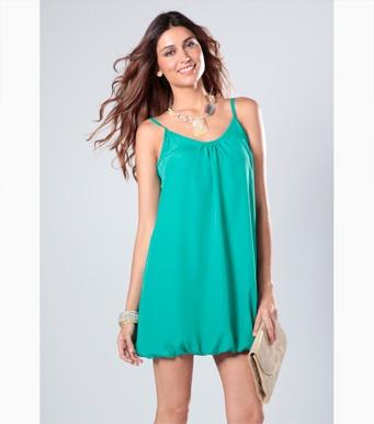 Vestido verde jade    #moda #venca