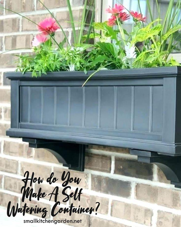 diy window box irrigation