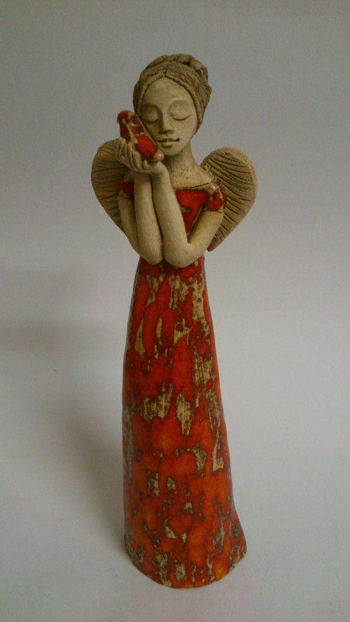 Andělka s holubicí