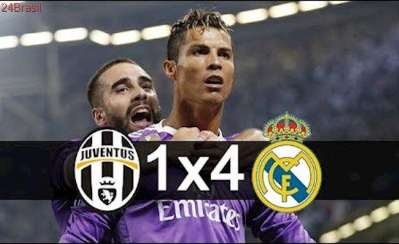 Real Madrid 4 x 1 Juventus - Gols & Melhores Momentos - Final Liga dos Campeões 2017