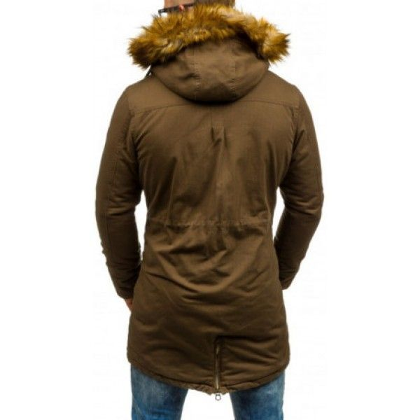 Pánske bundy - kapucňa s kožušinou