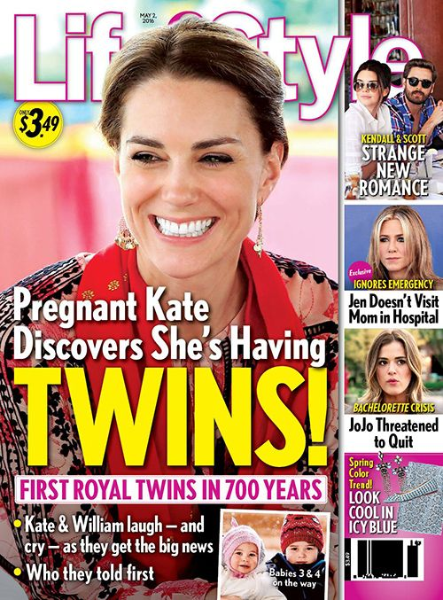 Kate Middleton Baby News: Duchess Pregnant With First Royal Twins In Centuries