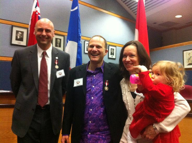 Jan. 17, 2013 ~ Chris McKhool's MP Matthew Kellway called to let him know that his office selected Chris for the Diamond Jubilee Medal for his work in building community & his contributions to Canada!
