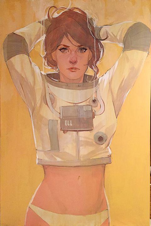 La sensual ilustración de Phil Noto