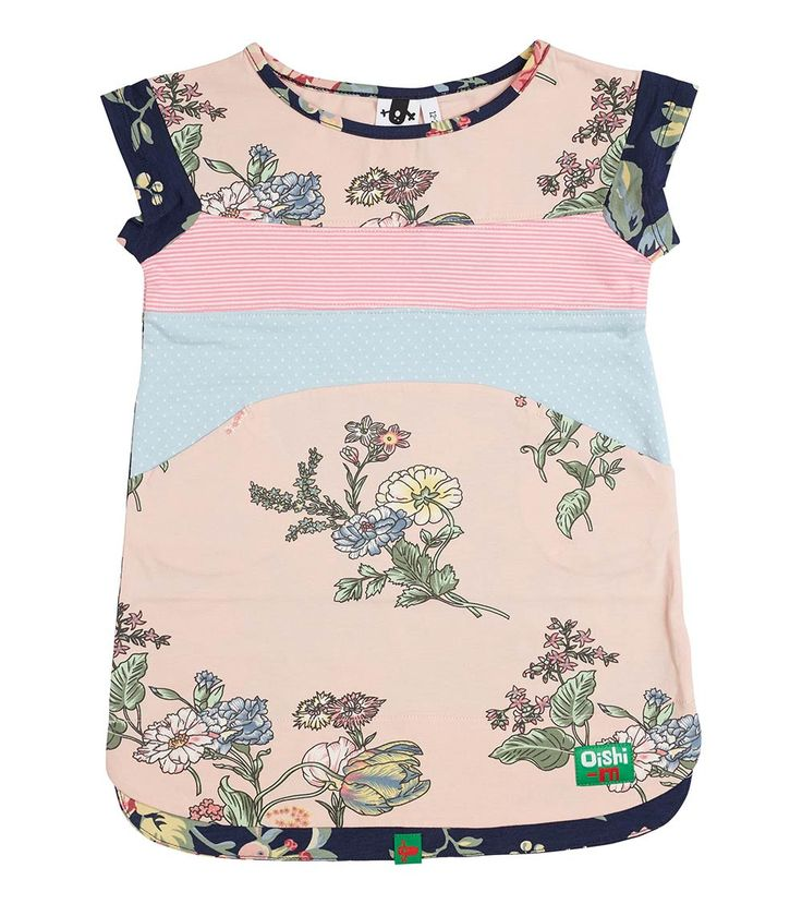 Chicks Are Chirping T Dress, Oishi-m Clothing for Kids, Autumn 2018, www.oishi-m.com