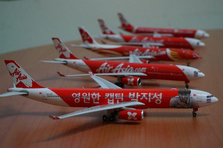 AirAsia X A330-300 Fleets