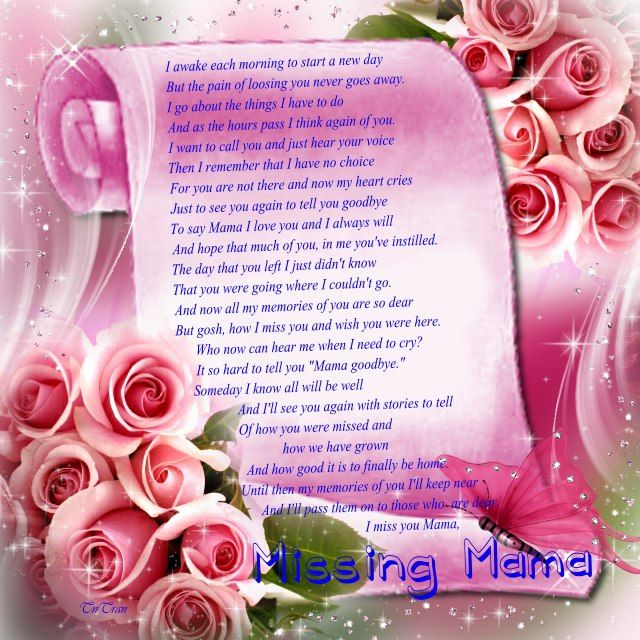 Mothers Day Poems For Deceased Mothers