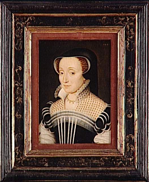 Claude de Beaune de Semblançay (c. 1520-1572), dame de Chateaubrun. Daughter of Jacques de Beane, executed in 1524. Francois Clouet (workshop)