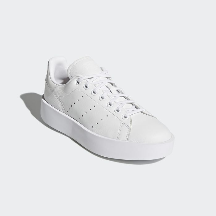 Stan Smith Bold Shoes White 10.5 Womens | Bold shoes, White ...