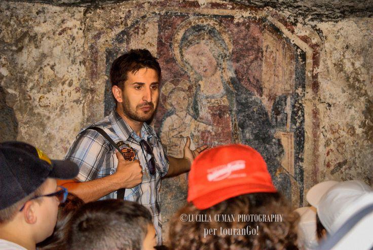 I nostri viaggi d'istruzione tra gli insediamenti rupestri del Salento. #tourango #cripte #tour #salento #puglia