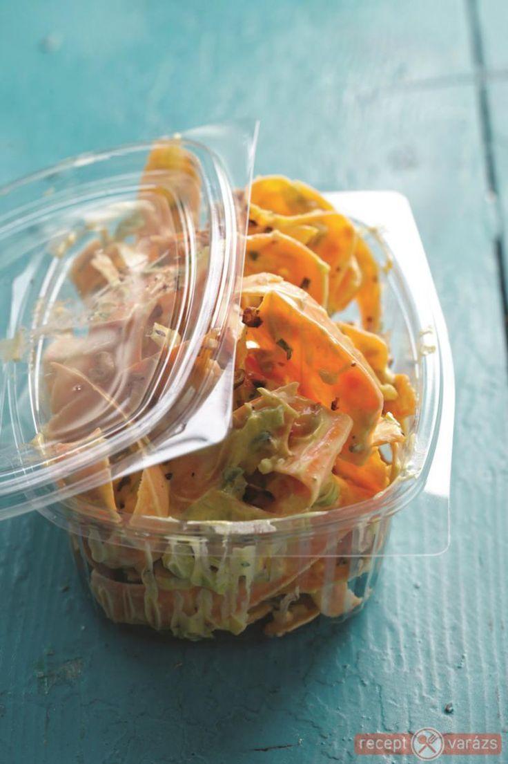 Joghurtos-currys répasaláta recept Készítsd el akár 2, vagy 12 főre, a Receptvarazs.hu ebben is segít!