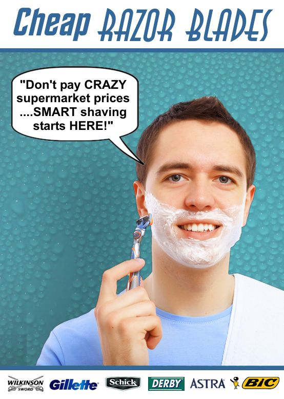 Cheap-Razor-Blades.com for high quality branded shaving blades at rock bottom prices