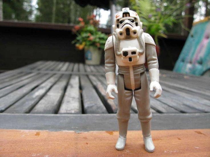 Star Wars Vintage AT-AT Driver SW76 på Tradera.com - Vintage samlarsaker