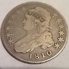 1810 Capped Bust Half Dollar **Free Shipping! OLD SILVER COIN LOT - http://coins.goshoppins.com/us-coins/1810-capped-bust-half-dollar-free-shipping-old-silver-coin-lot/