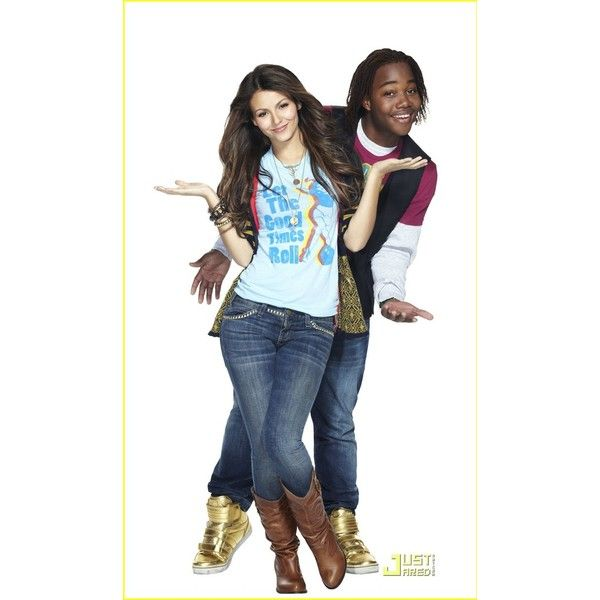 Tori Andre Victorious ❤ liked on Polyvore featuring victorious, ariana grande and victoria justice