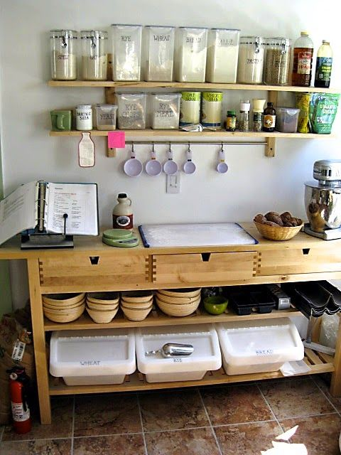 Awesome Best 25+ Baking Center Ideas On Pinterest | Appliance Cabinet, Appliance  Garage And Custom Kitchen Cabinets