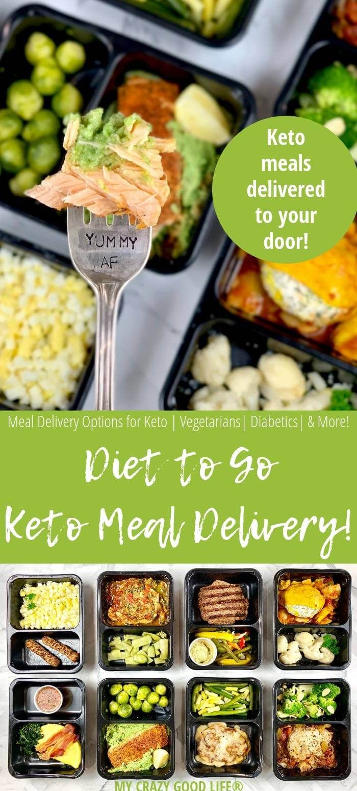 Keto Meal Delivery from Diet To Go Healthy breakfast