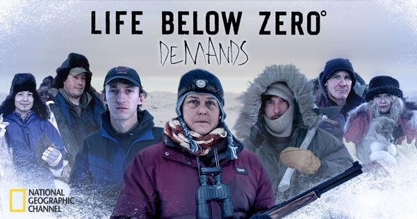 """Life Below Zero demands more from those who call Alaska home. Only those who possess exceptional perseverance, ingenuity, resourcefulness, awareness, and bravery can thrive in this extreme environment. Learn about the cast of National Geographic Channel's """"Life Below Zero"""" and the virtues it takes to live their lifestyle."""