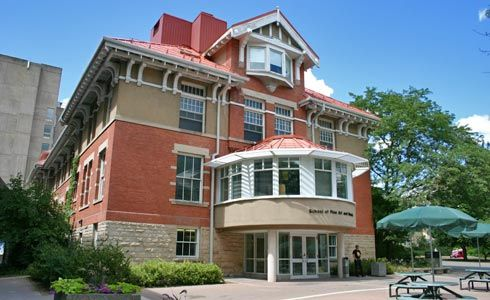 Zavitz Hall, built in 1914 for Field Husbandry, is now home to the School of Fine Art and Music at the University of Guelph.