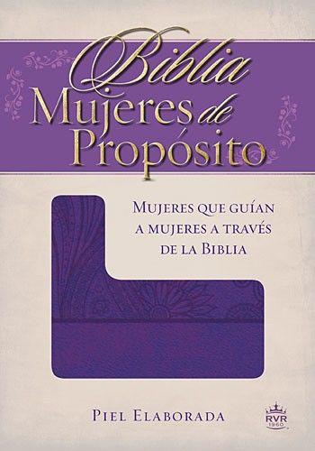 Biblia Mujeres de Propósito - Biblias