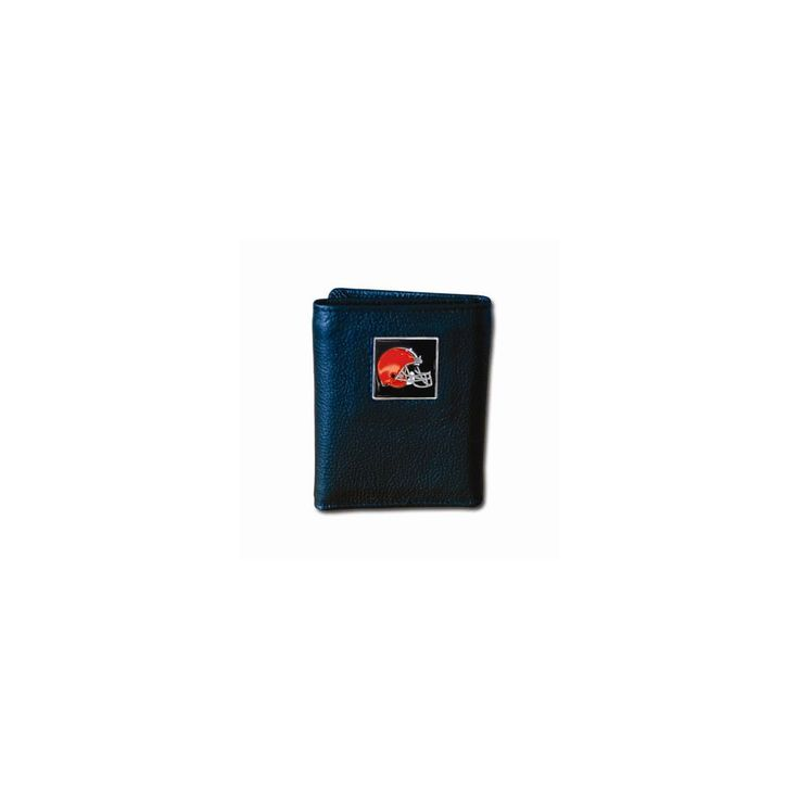 NFL Browns Tri-fold Wallet - Embossing Personalized Gift Item