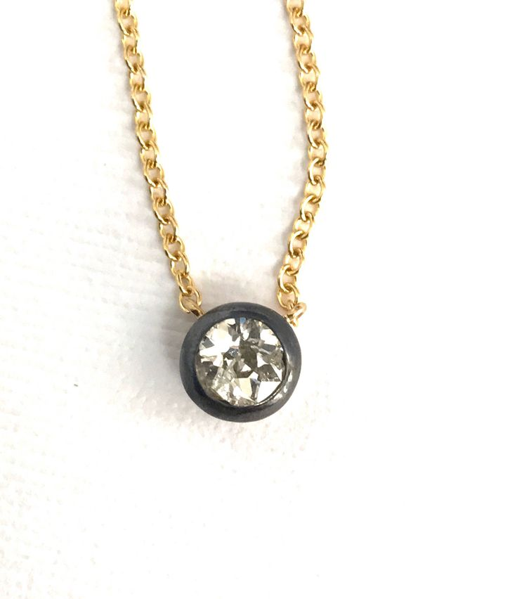 A personal favorite from my Etsy shop https://www.etsy.com/listing/541455806/antique-diamond-necklace-georgian