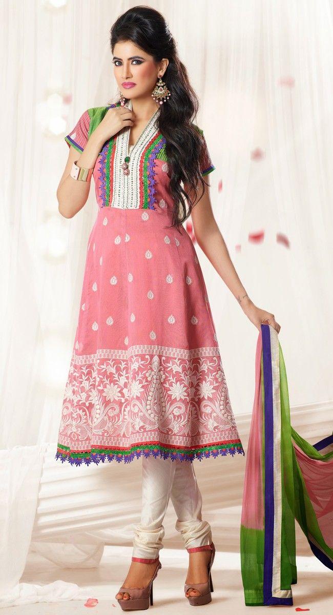 11 best Casual Salwar Kameez images on Pinterest | Shalwar kameez ...