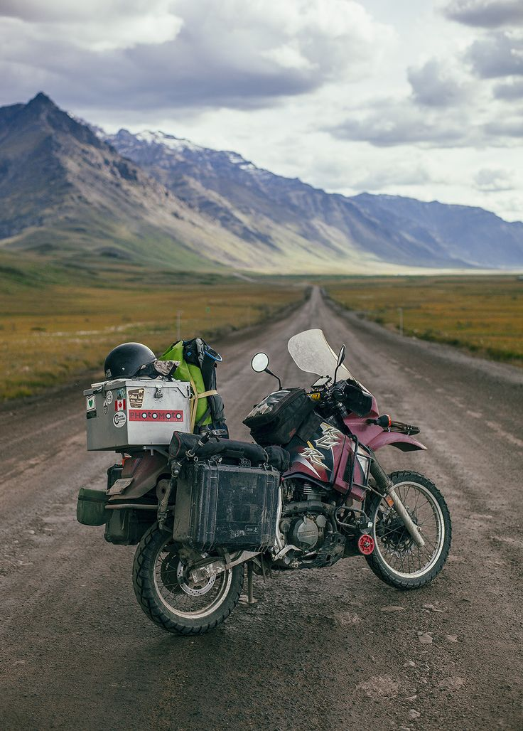 Ride North - an 11,000 mile adventure of a lifetime to the end of the world. From San Franscisco to Deadhorse, Alaska, this album is only a glimpse of the characters, encounters and stories experienced on a 99 day journey.