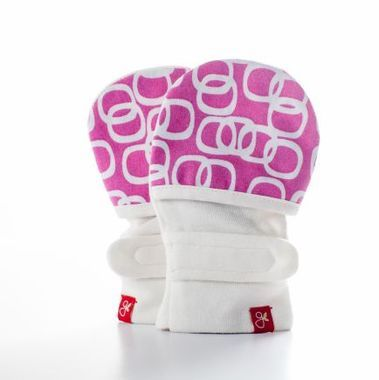 Infant eczema mittens to prevent scratching