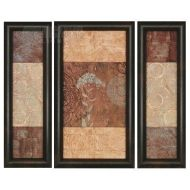 Malanta Knowles 7663 Legacy I Transitional Framed Wall Art (Pack of 3) PPG-7663