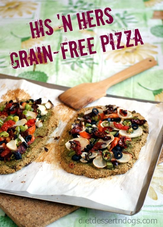 #Grain-Free, Bean-Free, Oil Free #Vegan Pizza Crust | rickiheller.com