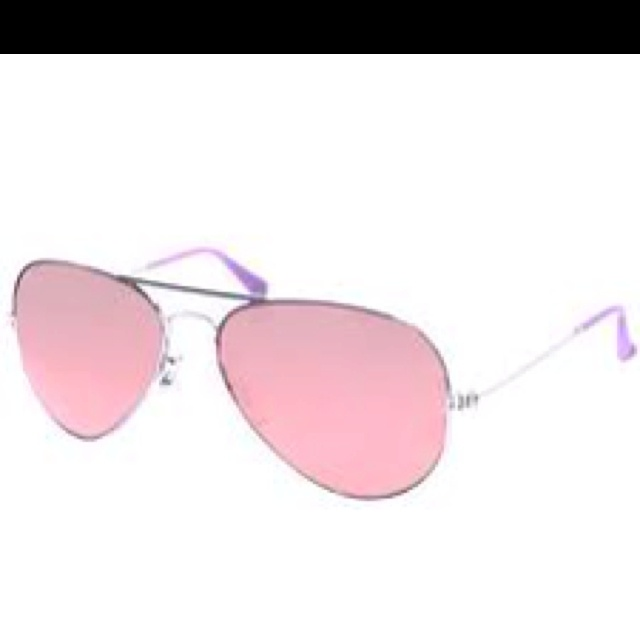 ray ban glass bag  pink ray ban aviators!