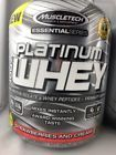 MuscleTech Platinum 100% Whey Protein Powder, 5LB container Strawberries Cream7  Expiration Date - 5|17, Formulation - Powder