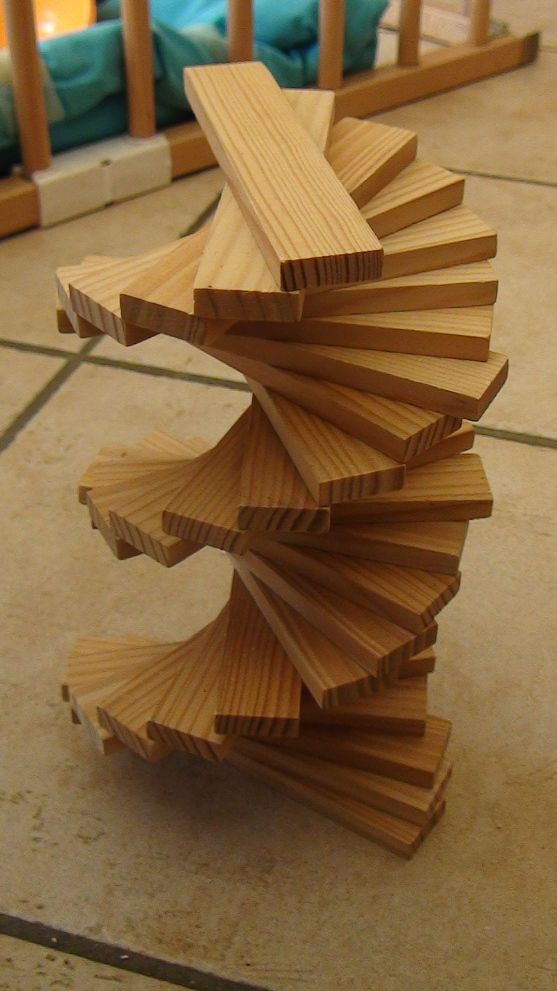 escalier en kapla