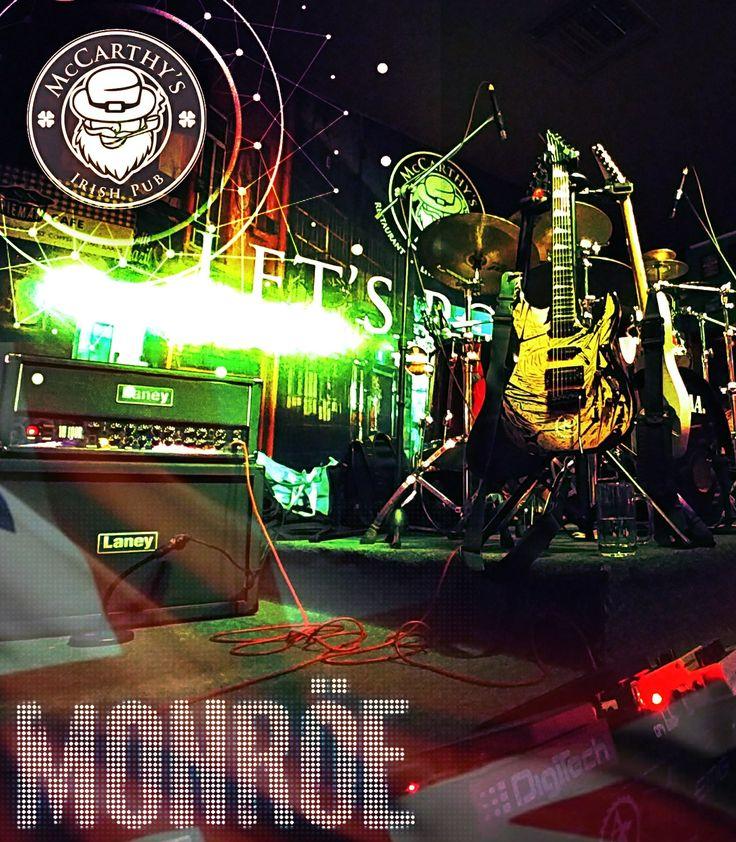 ... Y aunque llueva, truene y relampagueé; el rock te hará la noche de hoy en McCarthy's Irish Pub (Morelia La Huerta) !!! Nos vemos a las 10!! El abuelo nos espera!!  #Cheers #BeerGarden #Wings #RockInTheRain #IrishAttitude #FeelTheMusic #RockYourSenses #RockOn