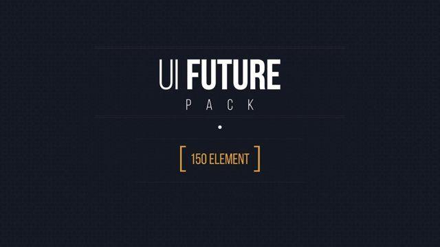 Zeinur Kokshebaev's UI future pack , motion graphic