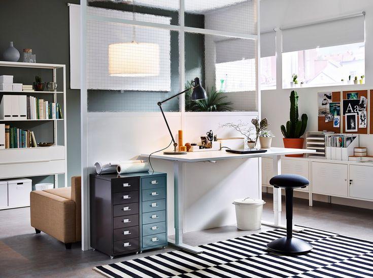 Arbeitszimmer kreativ einrichten in 2020 (mit Bildern