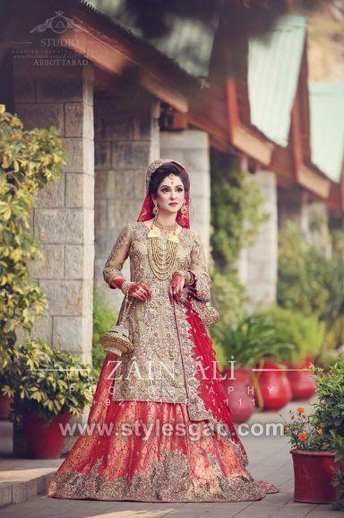b06351c2c5 Latest Bridal Lehenga Designs Collection for Pakistani Indian & Asian Brides  ...