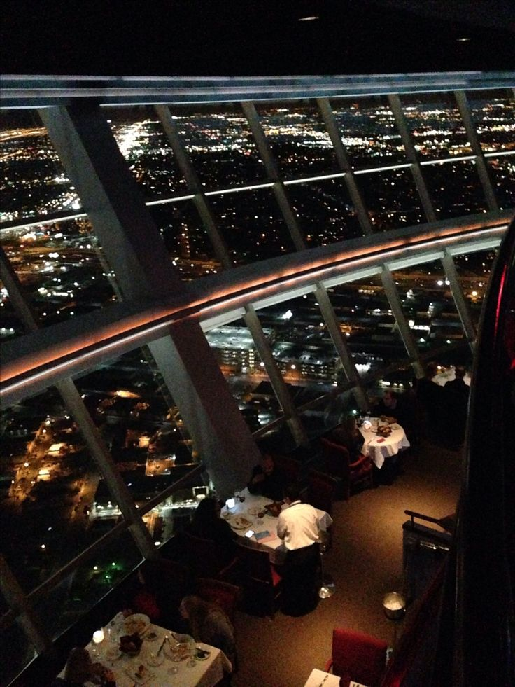 'Top of the World' revolving restaurant at the Stratosphere Hotel. 107th floor. Best view of Las Vegas anywhere!