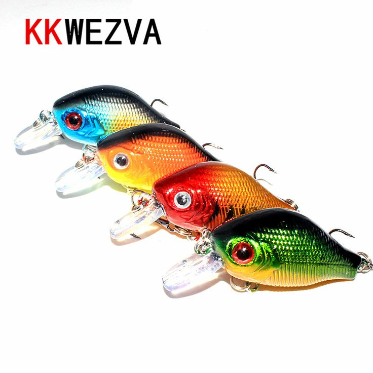 KKWEZVA 4pcs 5.6cm 8g Colors Fishing Lures Crankbait Minnow Hooks Free Shipping fishing tackle luminous lure Pesca balikcilik largemouth bass -- AliExpress Affiliate's buyable pin. Find out more on www.aliexpress.com by clicking the image